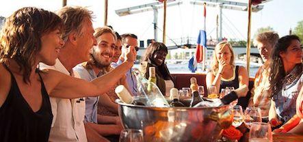 Borrelboot Happy Hour vanaf 32,50 per persoon