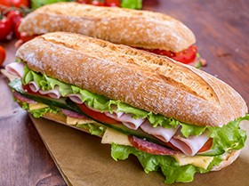 Sandwiches and more for lunch