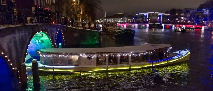 Salonboot Amsterdam Light Festival